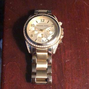Michael Kor's Gold Women's Watch
